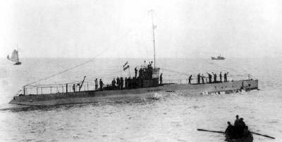 K III departing Vlissingen, 4 Sep 1920